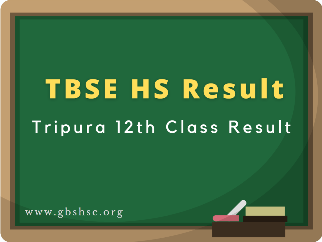 TBSE HS Result 2021 Tripura 12th Higher Secondary Result